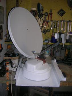 Parabola motorizzata semiassistita con controlbox for Parabola motorizzata prezzi