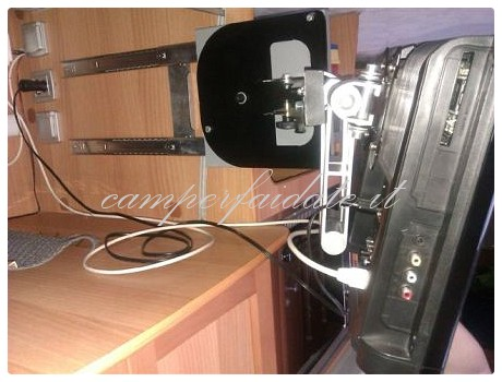 Supporto tv modificato - Supporto porta tv ...