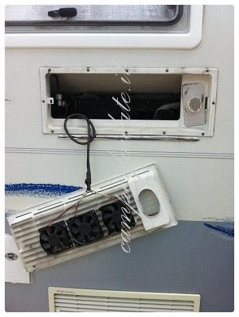 Ventole per frigo camper abbattitore di temperatura da casa - Temperatura frigo casa ...
