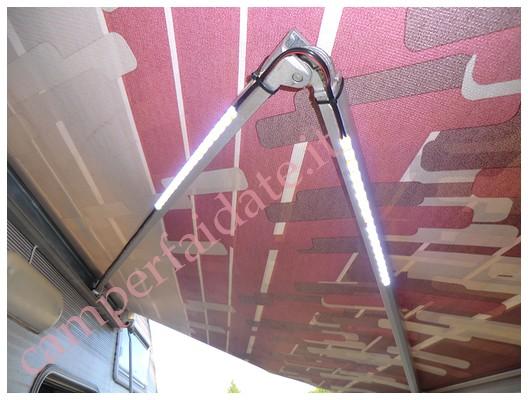 luce da tendalino - Illuminazione Veranda Camper