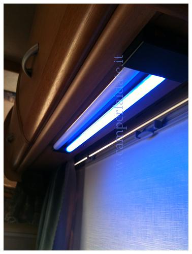 Costruzione impianto luci a led su dinette for Luci led piccole