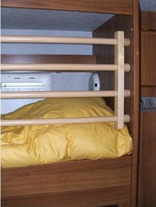 Protezione anticaduta per letto a castello - Protezione letto ...