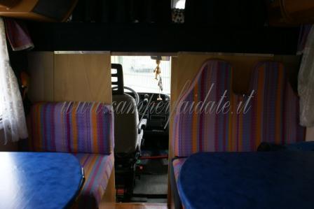 Divisorio cellula cabina guida