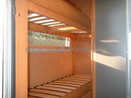 Dal look esterno al letto a castello interno for Pannelli sughero brico