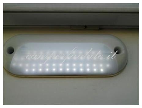 Plafoniera Led Per Camper : Luce esterna da neon a led