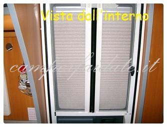 Modifica zanzariera porta cellula laika kreos - Costo zanzariera porta finestra ...