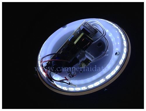 Plafoniere Per Camper 12 Volt : Trasformazione plafoniere classiche con luci a led