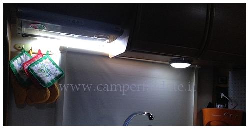 Plafoniere Da Camper : Trasformazione plafoniere classiche con luci a led